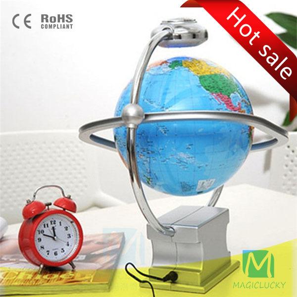 The latest gopro gift 8 inch Antigravity Magnetic Levitation Floating Globe Creative arts and crafts Xmas Decoration Decor Home(China (Mainland))