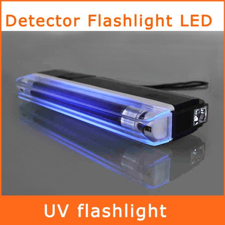 handheld uv leak detector ultra violet flashlight led torch light bank. Black Bedroom Furniture Sets. Home Design Ideas