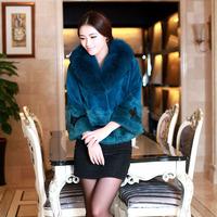 Free Post Dongkuan mink mink coat female models short paragraph Haining 2014 fight mink fur coat fox fur collar