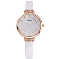 AW-SB-916 High Quality KEZZI K-759 Brand Leather Strap Watches Women Dress Watches Relogio Waterproof Ladies Watch Gift Clock