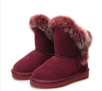 Retail 2014 children winter warm snow boots of high-quality non-slip children shoes girls boys winter boots kids boots girls