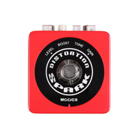 NEW Effect Guitar Pedal /MOOER SPARK DISTORTION Modern high-gain tone; Full metal housing  free shipping