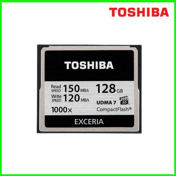 Toshiba 1000X high-speed memory card 128G CF card SLR camera memory card read write 120M 150M(China (Mainland))