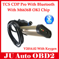 Quality A+ TCS CDP Pro Scanner With Oki Chip ( M6636B OKI Chip) + Bluetooth V2014.01 For Cars /Trucks Multi Language