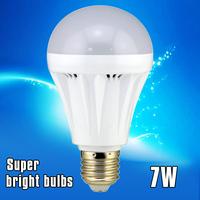 New indoor lighting led bulb 220V SMD 2835 7W E27 B22 Super brightness 50000Hours Work life Free shipping