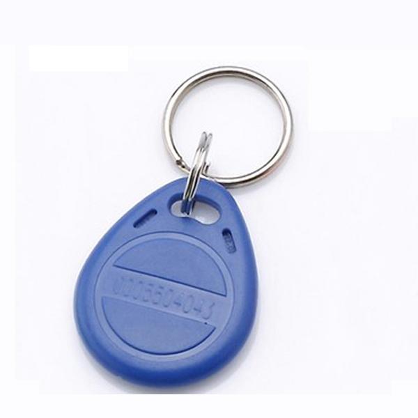wholesale free shipping 100 pcs/lot 125kHz RFID Proximity ID Token Tag Key Keyfobs rfid key fob for door entry system(China (Mainland))