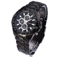 2014 new fashion hot sale steel stainless army high quality sport watches men male luxury cool wrist quartz watch