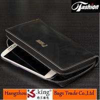 B.King 2014 New Luxury Brand Genuine Leather Men Clutch Wallets , Unique Portefeuille Men Clutch Business Handbag Free Shipping