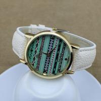 HOT 2014 new fashion belt minimalist Digital Women Dress Watch GENEVA watches men