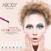 2014 NEW!! Abody 15ml Soak Off Nail Gel Polish (Choose 3 Colors+ 1 TOP COAT+1 BASE COAT) UV Gel Nail Polish Shellac Kit