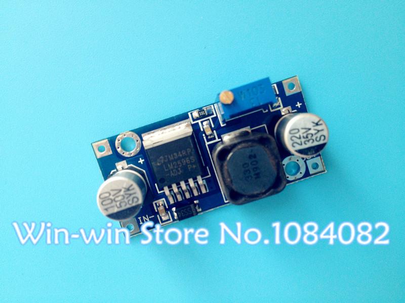 5pcs LM2596 LM2596S ADJ Power supply module DC-DC Step-down module 5V/12V/24V adjustable Voltage regulator 3A(China (Mainland))