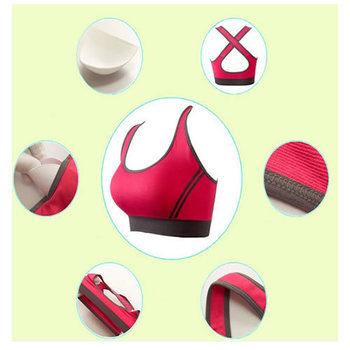 2014 женщины сексуальное бесшовные спорт бюстгальтер топ удобный бюстгальтер для йога спортивный сна фитнес-одежды sml