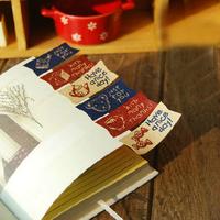 (1 Lot =240 Pcs) 4.5*2 CM DIY Scrapbooking Kraft Paper Labels Stickers Cute Bear Seals Gift Sticker