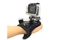 10pcs/lot Glove-style Gopro Wrist  strap holder adapter mount for SJ4000,Hero3+,Hero3,Hero2,Go pro hero4 accessories GP129L
