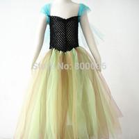 Free shipping fashion baby frozen dress frozen princess dress cute baby clothing KP-FTU003