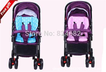 J.G! Wholesale Thickening waterproof cotton pad baby stroller child baby carriage car umbrella cart cushion bb carrinho de bebe