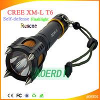 2014 Lanterns lantern CREE XM-L T6   torch Large Power LED 1600 LM Flashlight Torch Rescue Self-defense Shocker Lanterns torch