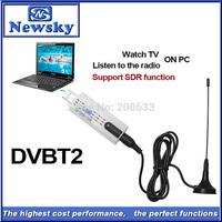 Digital Antenna USB 2.0 HDTV TV Remote Tuner Recorder&Receiver for DVB-T2/DVB-T/DVB-C/FM/DAB for Laptop,Wholesale Free Shipping