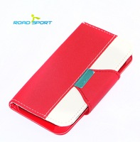 10 piece/lot Newest Material Ultra Thin Magnetic PU Leather Flip Case For iphone 5 / 5S / 5C Protect Case Free Shipping