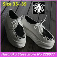 Sales!5 cm Heels EUR 35~39 AOD 2014 Brand Vintage Women Platform Creepers Flat Shoe Casual Sneakers Autumn Winter Creeper Shoes