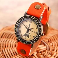 Free shipping 2014 new fashion Retro watches women casual watch brand women casual  Leather  sports watches women dress watches