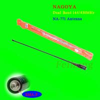 Nagoya NA-771 SMA-F Female Dual Band Radio Antenna For Wouxun KG-UVD1  Baofeng UV-5R Walkie Talkie