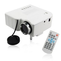 "60"" Portable Mini Hd LED Projector Cinema Theater, Support VGA +SD + USB"