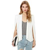 2014 Fall Fashion For Women Champagne Denim Jacket,Solid Color Unique Champagne Vest Female Small Suit Jacket,Woman Clothes