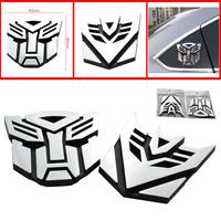 car styling Autobots Emblem Badge car Sticker Super Cool Zinc 3D Body Sticker Metal  Sticker Racing Decal Docerstyle stylish