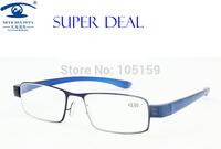 Eyewear & Accessories Reading Glasses 2.00 Blue Color Slim Reading Glasses Men