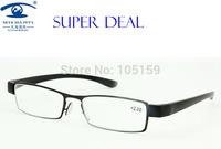 Eyewear & Accessories Reading Glasses  2.00 Men Slim Reading Glass PC Temple/leg 11019