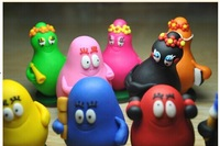 Free shipping lovely anime Barbapapa for Baby doll party gift 9pcs/set toys and children's product
