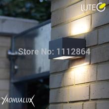 2pcs/lot professional 6W LED High Lumen outdoor wall lamps 4000K led module Class I(China (Mainland))