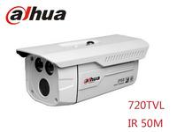 """Free shipping 2014 Original DaHua analog 720TVL CCTV Camera 1/3"""" IR infared 50 m  outdoor  camera Bullet camera"""