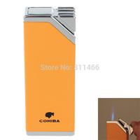 Fashion COHIBA  Lighter Windproof Super Fire  Butane Jet Flame Lighter  cigarette lighter -275311