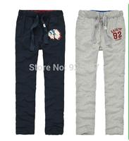 New 2014 Spring Fashion Brand loose Men's Clothing Sports Men's Sweat Pants Men's Slim Fit Trousers Sportswear