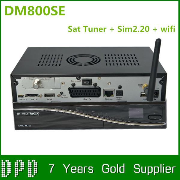 2pcs V2 DM800HD SE Sat Tuner HD DVB-S2 best set top box enigma2 linus smart tv box IN STOCK()