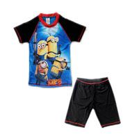 2014 New Summer Swimwear Trunks Children Boys Rash Gurds Child Boy swimwear Swimming Spiderman cartoons Costume Free Shipping