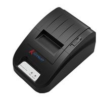 Mini Plug Play 58mm 90mm/s ESC/POS Printer 384 Dots Line Thermal Dot Receipt Printer Roll Paper