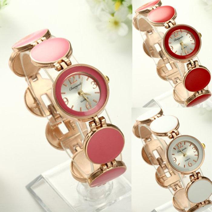 2015 Hot Sale Time-limited Hand Wind Watch Xue Fashion Elegant Brand Women Bracelet Watch Circle Splice Jecksion(China (Mainland))