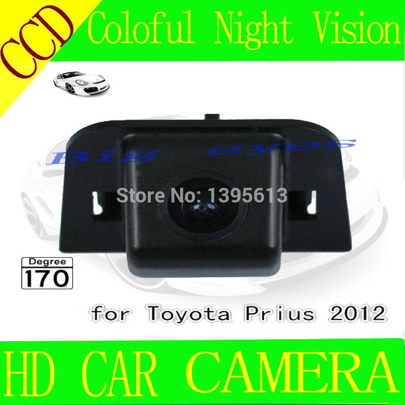 Hot sell Car Rear View Camera for Toyota Prius parking car CCD waterproof back camera backup(China (Mainland))