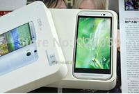Free shipping 1: 1 M8 phone 5.0 inch 2GB memory MTK6582 quad-core smartphone 1280 * 72013MP new dual camera smart phone