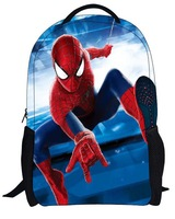 Spider-Man high quality children's cartoon shoulder bag student backpack Boy Girl Kids Bags For Students Free shipping