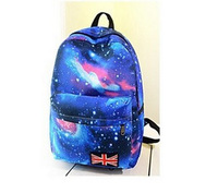 Free Shipping fashion 2014 new japan style star backpack 4 color women and men backpack ,school backpacks,travel bags,wind lady'