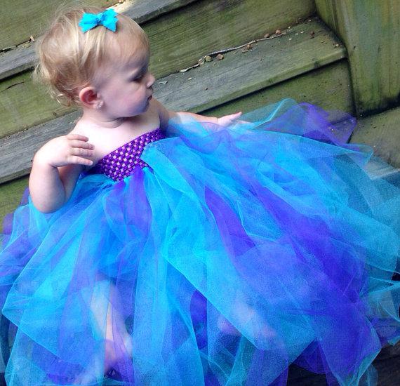 Baby girls tutu dress for christmas baptism birthday party dress baby