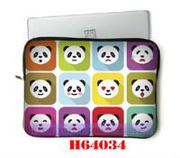 Cute Pandas Design! Wholesale Cases & Bags For New Ipad Laptop & Computer Accessories 10pcs/lot
