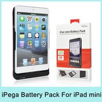iPEGA 8000mAh Battery Pack External Backup Charger Power Bank Protective Cover Case For iPad Mini PG-IPM019 Original NEW 2014