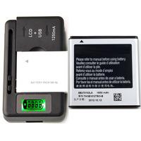 Original Battery EB575152VU &Charger For Samsung Captivate Glide SGH-i927 1650 mAh