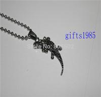 Crocodile pendants, stainless steel fashion jewelry