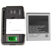 New Original Battery EB-L1D7IBA & Charger For Samsung Galaxy S2 Skyrocket SGH-i727 1850 mAh